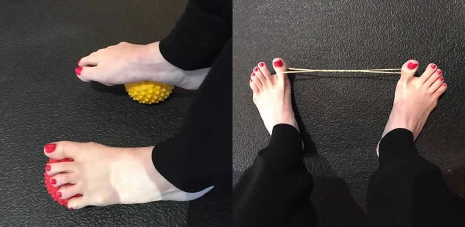 How can stronger feet affect your Pilates performace?